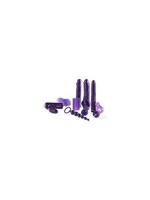 Rewelacyjny 9-cio Częściowy Żelowy Zestaw Mega Purple