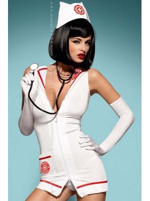 Kostium Emergency+stetoskop